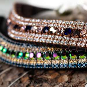 the best crystal browbands you can buy - Unicorn Browbands